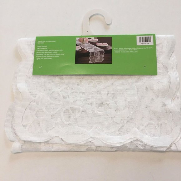 NWT- Lace Tablerunner